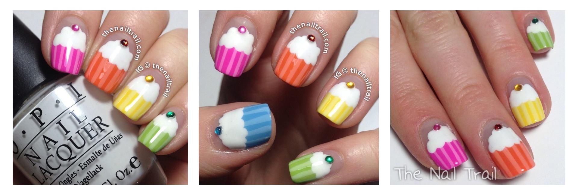 Nail art cupcake nail art designs cupcakenailart2 cupcake1 prinsesfo Gallery
